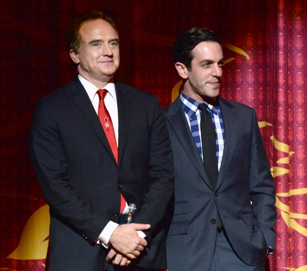 Bradley Whitford and B.J. Novak