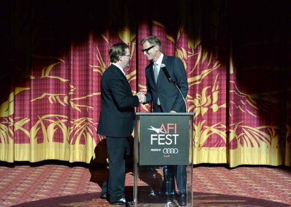 Bob Gazzale and director John Lee Hancock