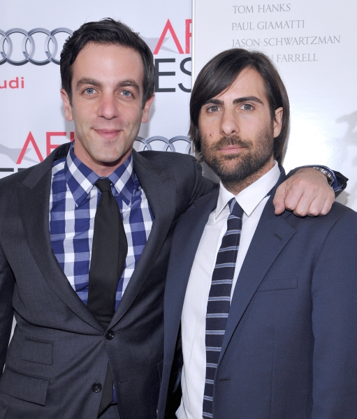 B.J. Novak and Jason Schwartzman
