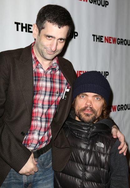 Jonathan Marc Sherman and Peter Dinklage