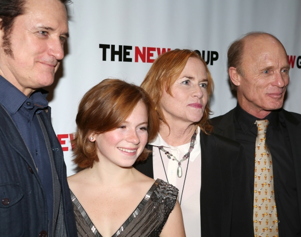 Bill Pullman, Juliet Brett, Amy Madigan and Ed Harris