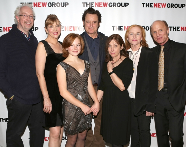 Director Robert Falls, Glenne Headly, Juliet Brett, Bill Pullman, Playwright Beth Henley, Amy Madigan and Ed Harris