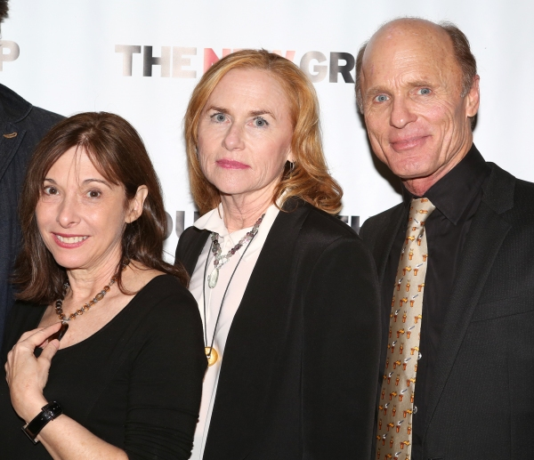 Playwright Beth Henley, Amy Madigan and Ed Harris