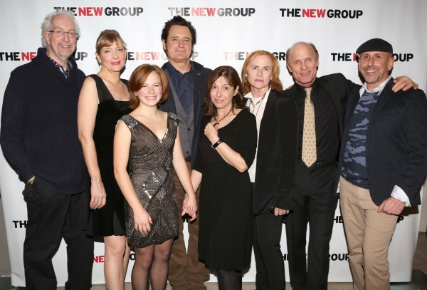 Director Robert Falls, Glenne Headly, Juliet Brett, Bill Pullman, Playwright Beth Henley, Amy Madigan, Ed Harris and Scott Elliott