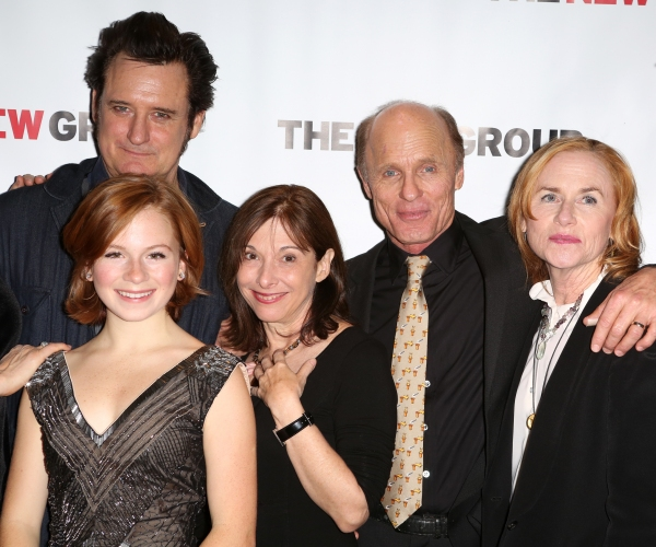 Bill Pullman, Juliet Brett, Playwright Beth Henley, Ed Harris and Amy Madigan