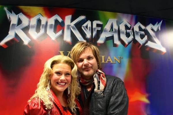 Carrie St. Louis with Rikki Rockett Photo