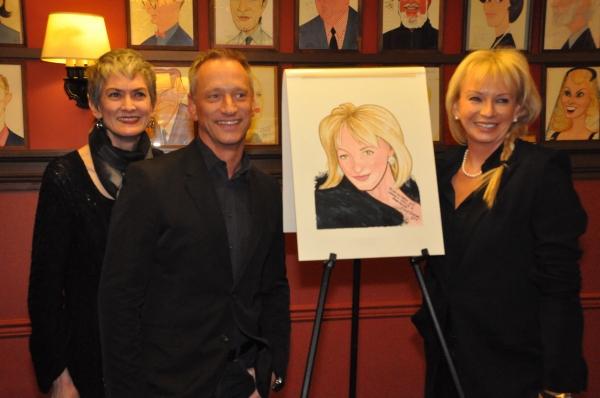 Nina Lannan, Devin Keudell and Judy Craymer Photo