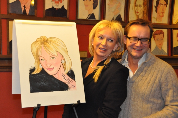Photo Coverage: MAMMA MIA! Creator Judy Craymer Receives Sardi's Portrait