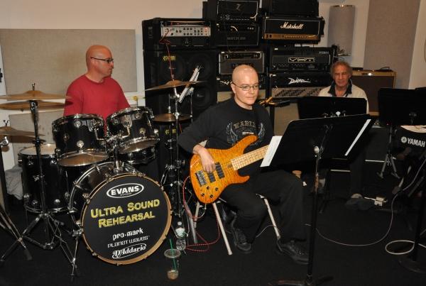 Jay Leslie, David Kuhn and Kevin Dow