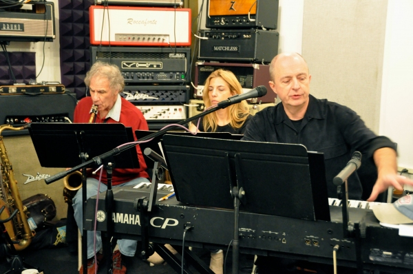 Jay Leslie, Susan Aquila and Joseph Church (Musical Director) Photo
