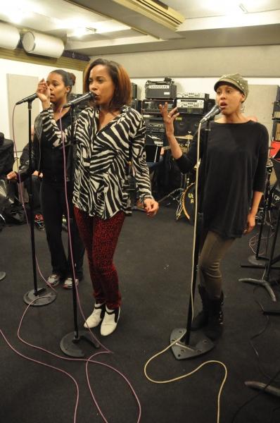 Rebecca E. Covington, Dionne Figgins and Krisha Marcano Photo