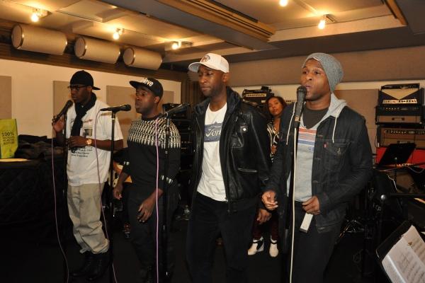Jawan M. Jackson, Mykal Kilgore, Donald Webber, Jr., and Jarran Muse Photo