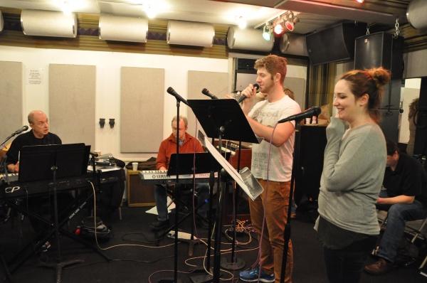 Joseph Church, Henry Aronson, Eric Michael Krop and Emma Hunton Photo