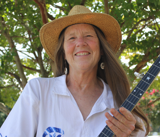 Musician Sue Massek, photographer Daniel Coston