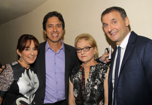 Patricia Heaton, Ray Romano, Loraine Boyle and Phil Rosenthanl