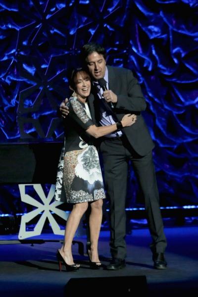 Patricia Heaton and Ray Romano Photo