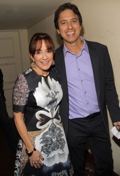 Patricia Heaton and Ray Romano