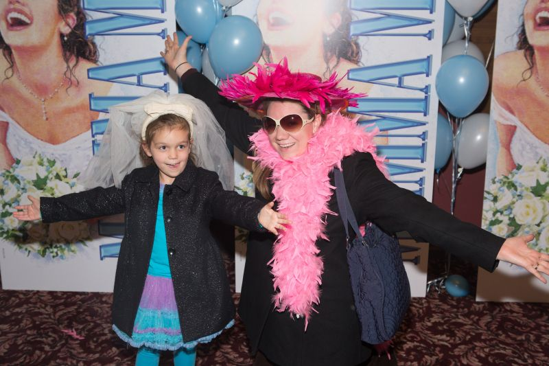 Photo Coverage: Broadway's MAMMA MIA! Celebrates 5,000th Performance