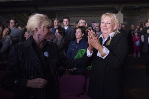 Ivana Trump and Judy Craymer