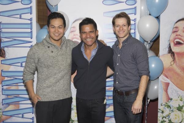 Paul HeeSang Miller, Gerard Salvador and Mark Dancewicz Photo