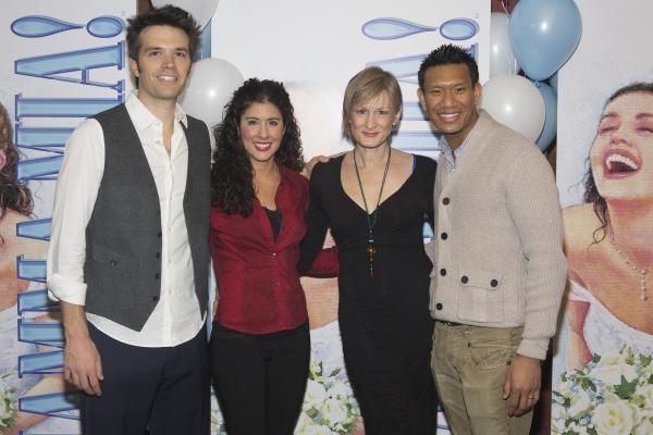 Blake Whyte, Deanna Aguinaga, Corrine Melancon and Albert Guerzon Photo