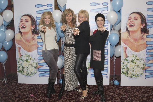 Felicia Finley, Judy McLane, Judy Craymer and Lauren Cohn