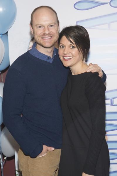 John Hemphill and Jennifer Noth Photo