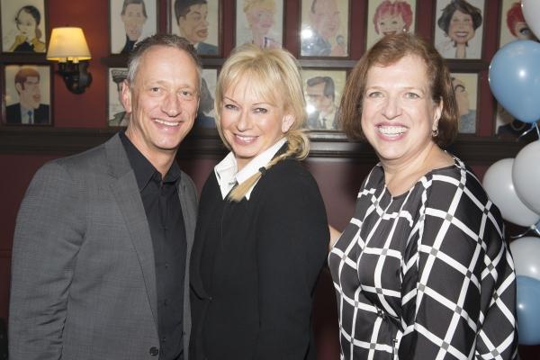 Devin Keudell, Judy Craymer and Rina Saltzman