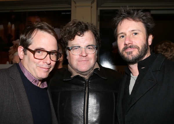 Matthew Broderick, Kenneth Lonergan & Josh Hamilton