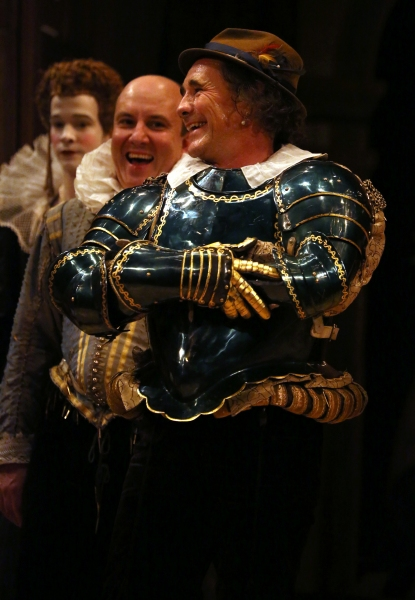 Joseph Timms, Paul Chahidi and Mark Rylance