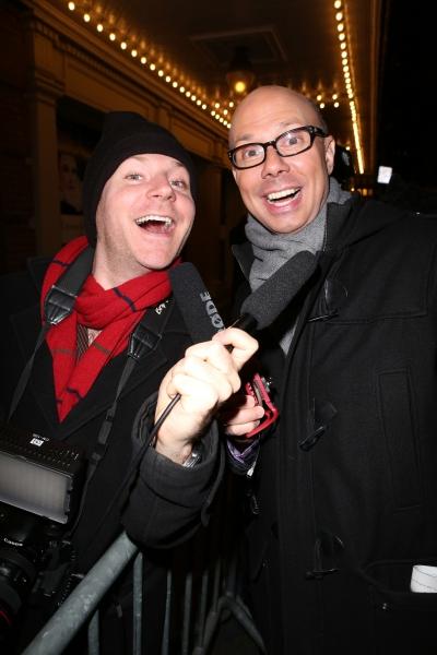 Journalists Seth Walters and Richard Ridge