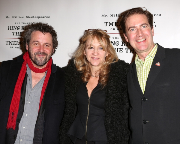 Dominic Dromgoole, Sonia Friedman and Neil Constable