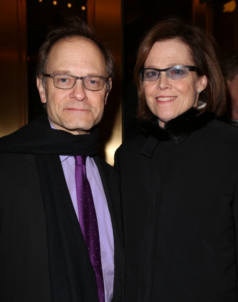 David Hyde Pierce and Sigourney Weaver