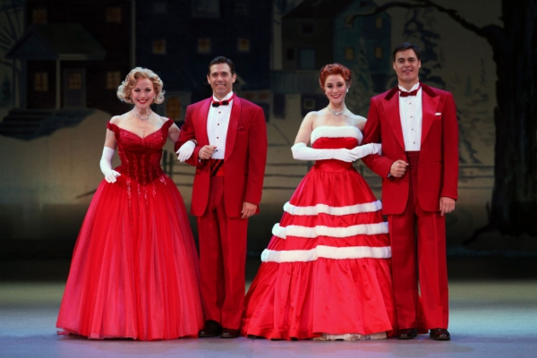 Photo Flash: First Look at the National Tour of IRVING BERLIN's WHITE CHRISTMAS