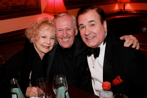 LEE ROY REAMS (right) with his ''Applause'' co-stars PENNY FULLER and LEN CARIOU