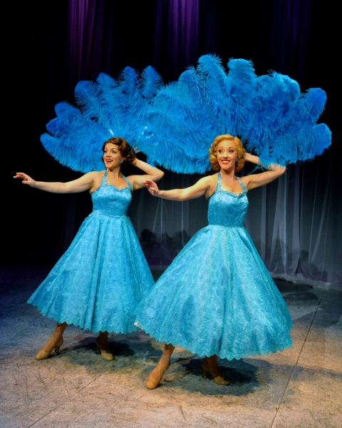 Lindsie VanWinkle (Betty), Kelly Sheehan (Judy), perform ''Sisters''