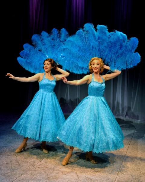 Lindsie VanWinkle (Betty), Kelly Sheehan (Judy), perform ''Sisters''