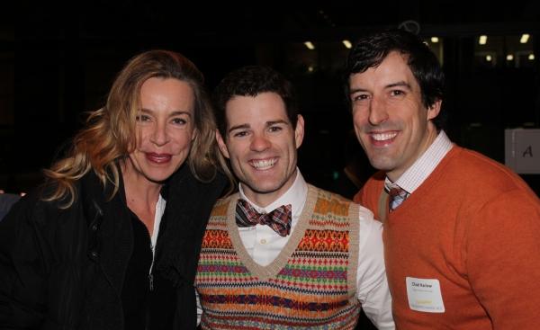 Ellen Harvey, Goodspeed alum and Chad Harlow Photo