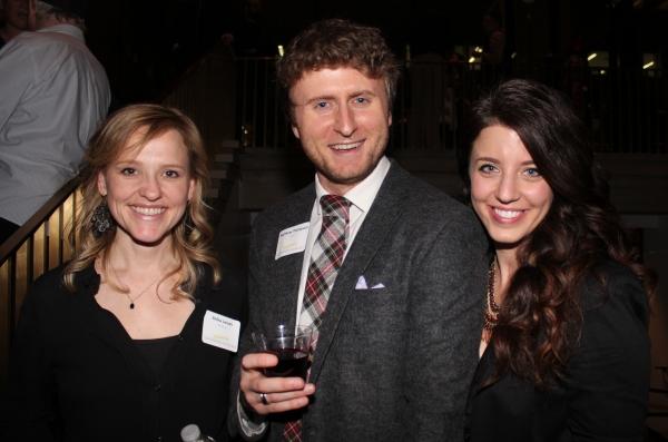 Anika Larsen, Matthew Thompson and Goodspeed alum Photo