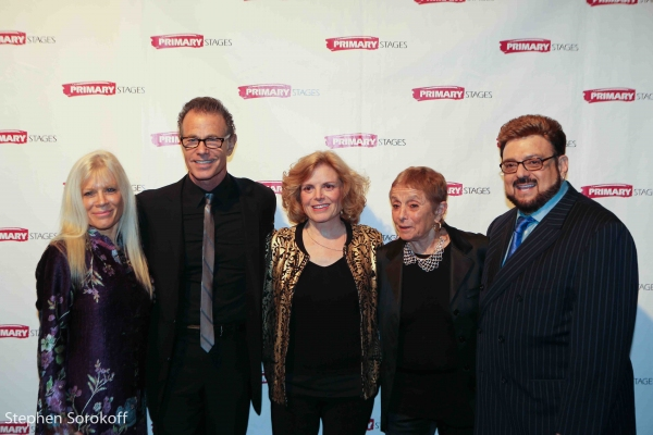 Ilene Kristen, Alan Paul, Carole Demas, Patricia Birch, Louis St. Louis