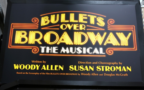 Up on the Marquee: BULLETS OVER BROADWAY