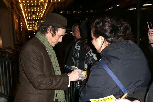 Photos: At the Stage Door on Opening Night of TWELFTH NIGHT!