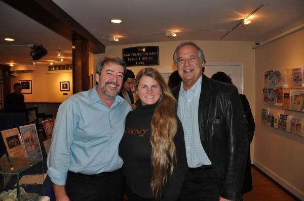 Gary Hygom, Bonnie Compley, Stewart F. Lane Photo