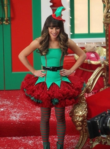 Photo Flash: First Look - Images from GLEE's 'Unaired' Christmas Episode