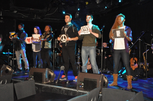 Andrew Berlin, Sarah Grace, Aisha Jackson, Greg Kamp, Galen WIlliams and Ariana Groover