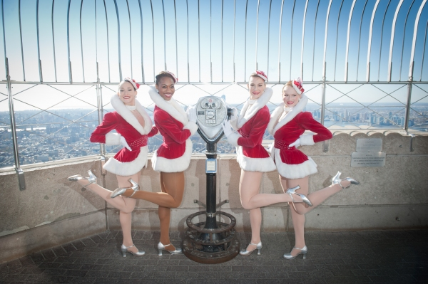 Rockettes Kali Grinder, Lindsay Howe, Jennifer Laroche and Kim Petros Photo