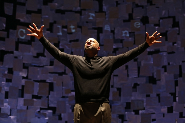 Photo Flash: First Look at Ruben Santiago-Hudson in Signature Theatre's HOW I LEARNED WHAT I LEARNED