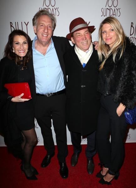Helen Zweibel, Alan Zweibel, Des McAnuff and Bryna McCann