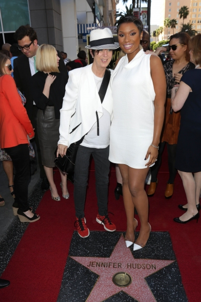 Diane Warren and Jennifer Hudson
