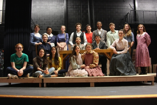 Photo Flash: South County High School Theatre Opens THE MIRACLE WORKER Today